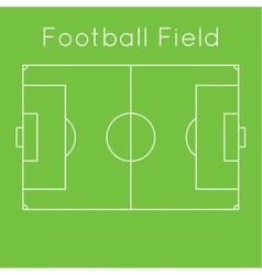 Green football field vector