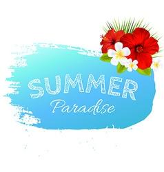 Summer banner blot for design vector