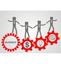 teambuilding concept vector image