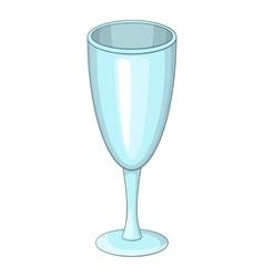 Wine glass icon cartoon style vector image vector image