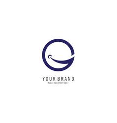 letter g finance logo vector image