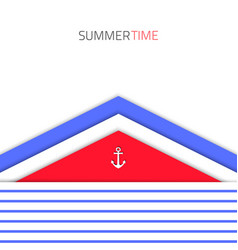 material-design-blue-red-sea vector image