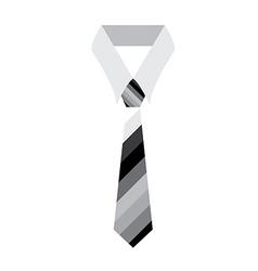 Necktie icon vector