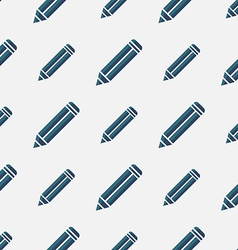 Seamless texture with abstract simple pencils on vector