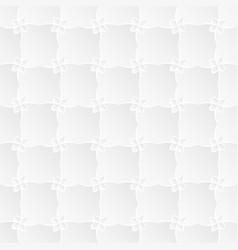 White flora trellis texture vector