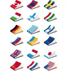 language icons vector image
