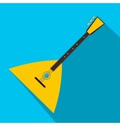 Balalaika flat icon vector image