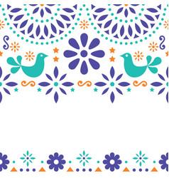 Wedding invitation card template mexican vector image mexican folk art greeting card invitation vector image vector image stopboris Images