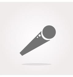Microphone Icon microphone icon flat microphone vector image