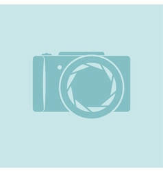 Photo camera symbol vector image vector image