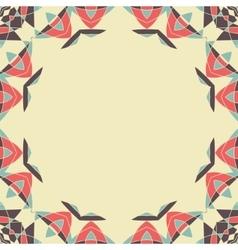 Round frame Mandala Circular Ornamental Pattern vector image vector image