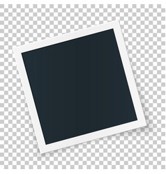 square photo place concept single isolated object vector image