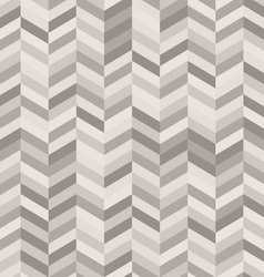 Zig zag abstract background in shades of warm gray vector