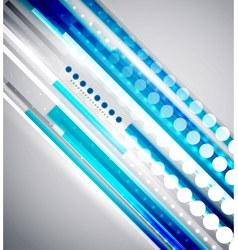 Techno lines abstract background vector