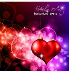 valentines magic vector image