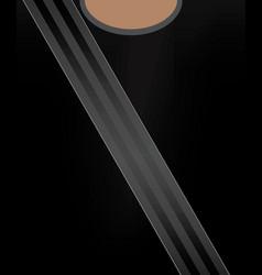 Safety belt concept vector