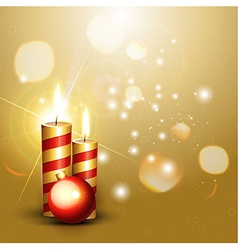 shiny new year design vector image