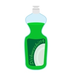 Kitchenware bottle soap cartoon icon vector