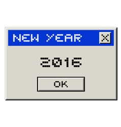 2016 computer message vector