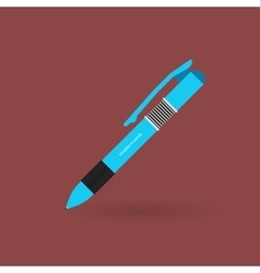 Ballpoint pen icon vector