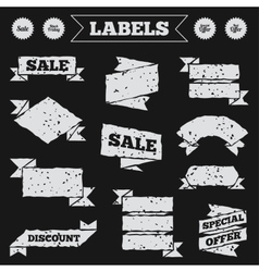 Sale icons best special offer symbols vector