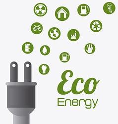 Ecology design vector image