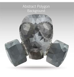 polygonGasMask vector image