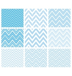 Set of Herringbone Zigzag Seamless Patterns vector image vector image