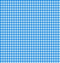 Tablecloth seamless pattern blue vector