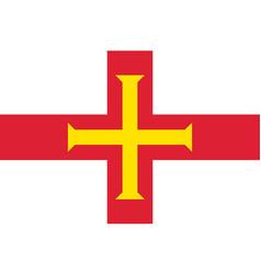 Guernsey national flag vector