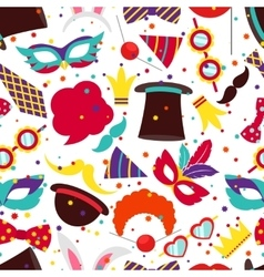 Party background or carnival pattern vector image vector image