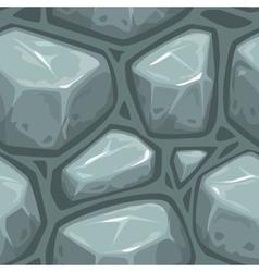 Seamless gray stone texture vector