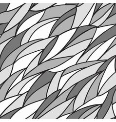 Seamless monochrome pattern vector image