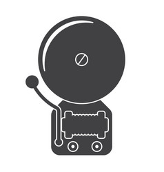 Alarm bell icon vector