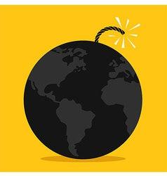 Global bomb Spark vector image
