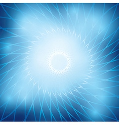 Bright abstract background with blue grid vector