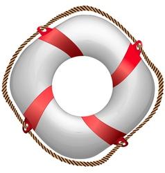 buoy vector image