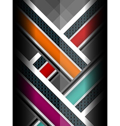 elegant metal color backgrounds vector image vector image