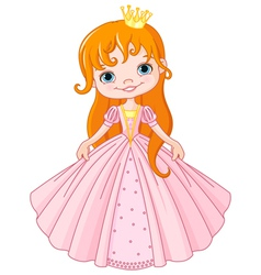 Little princess vector image vector image