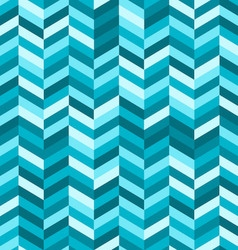 Zig Zag Abstract Background in Shades of Blue vector image vector image