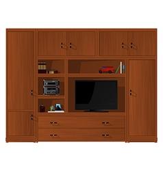 Living room furniture detail vector image