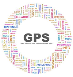 GPS vector image