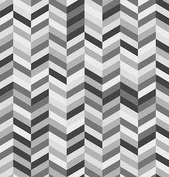 Black and white zig zag abstract background vector