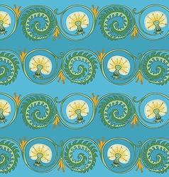 Dandelion seamless texture vector
