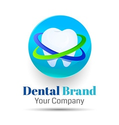 Dentistry logo design Template for your business vector image vector image