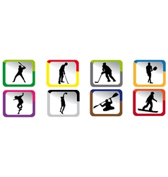 Sport icons vector
