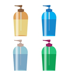 Pump bottle vector