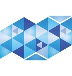 Abstract 3d geometricbroken glass lines modern vector