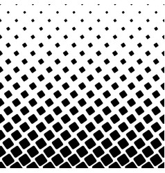 Monochrome square pattern - halftone abstract vector