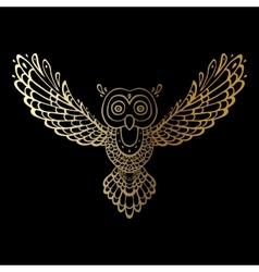 Owl Tribal pattern vector image